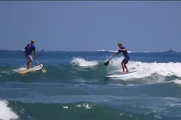 Stand up paddle surf filmé par un drone !