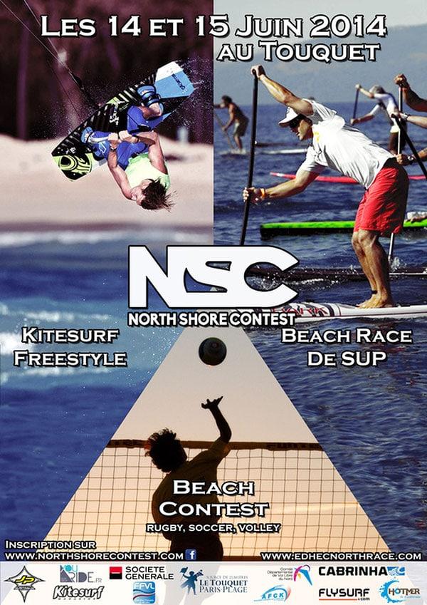 North Shore Contest, les 14 et 15 juin au Touquet
