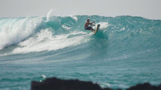 Aloha Big Island Naish stand up paddle