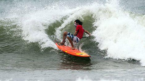 Antoine Delpero aux Mondiaux de Sup Surfing !