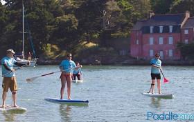 Rando stand up paddle dans le Golfe du Morbihan