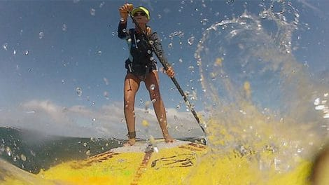 Le stand up paddle s'affranchit des 300 mètres