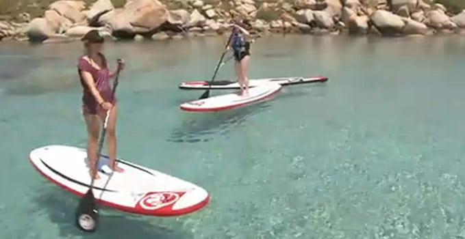 La Corse et le stand up paddle sur TF1 !