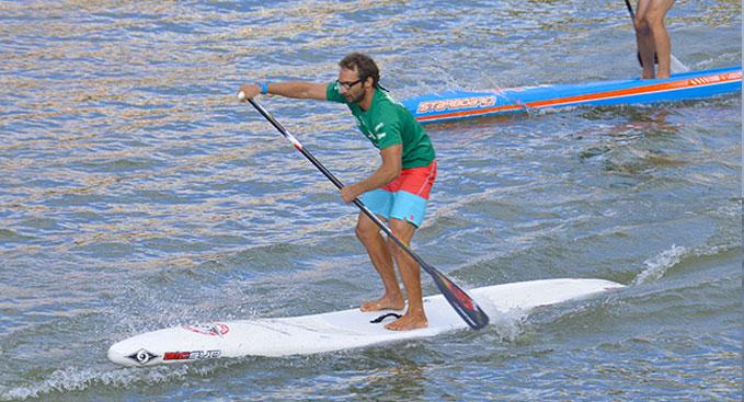 Eric Terrien, 8ème du Bilbao World Sup Challenge