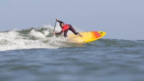 La première étape de la Coupe de France de stand up paddle Surf s'est disputée ce week-end à Lacanau, les favoris ont tenu leur rang.