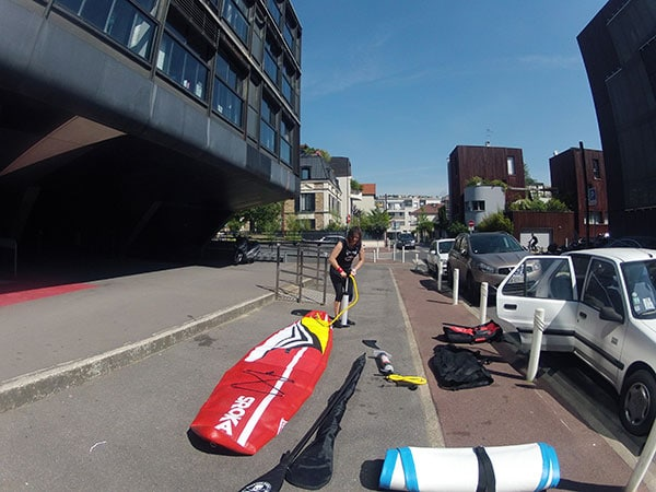 On a testé le stand up paddle Race Sroka 12'6