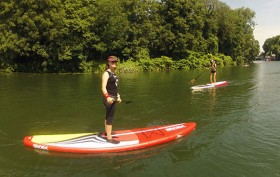 On a testé le stand up paddle Race Sroka 12'6 The Discover