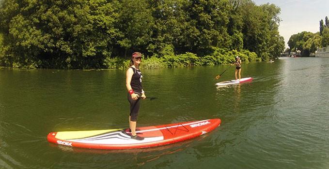 On a testé le stand up paddle Race Sroka 12'6 The Discover
