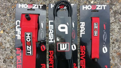 Le leash Howzit personnalisable pour stand up paddle