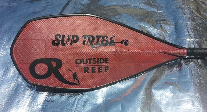 La nouvelle magnifique pagaie RubY de Outside Reef