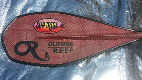 La nouvelle et magnifique pagaie RubY de Outside Reef