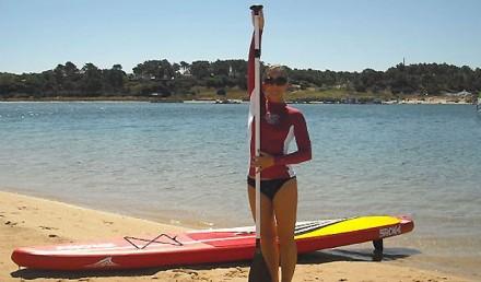 Régler la taille de sa pagaie ou de sa rame en stand up paddle