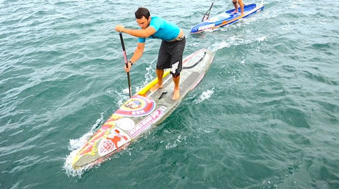 Championnats de France de stand up paddle à Quiberon