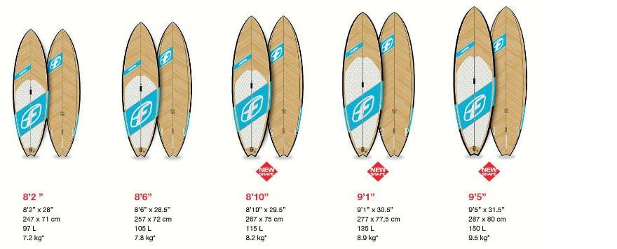 Les nouvelles planches stand up paddle F-One de 2015