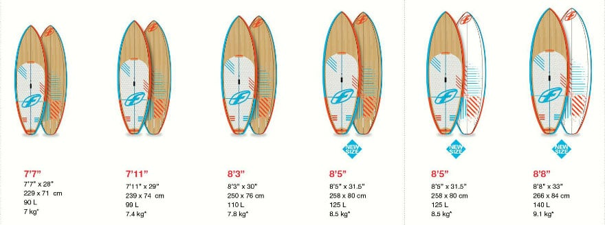Les nouvelles planches stand up paddle F-One de 2015 madeiro