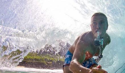 Filmer vos sessions sup avec une GoPro dans la bouche