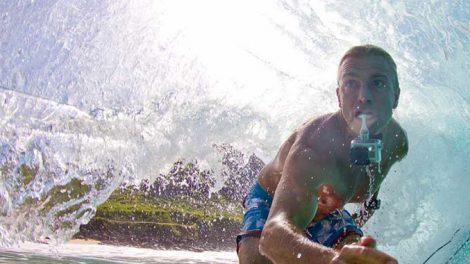 Filmez vos sessions sup avec une GoPro dans la bouche