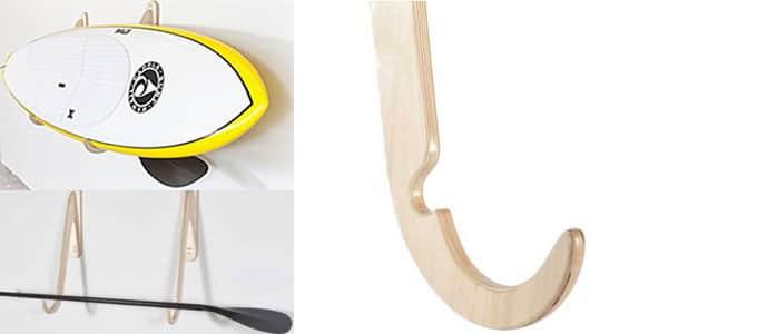 Paddle Board Rack avec Paddle Holder