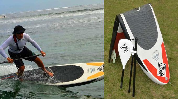 Pendle Board, premier stand up padle rigide et gonflable