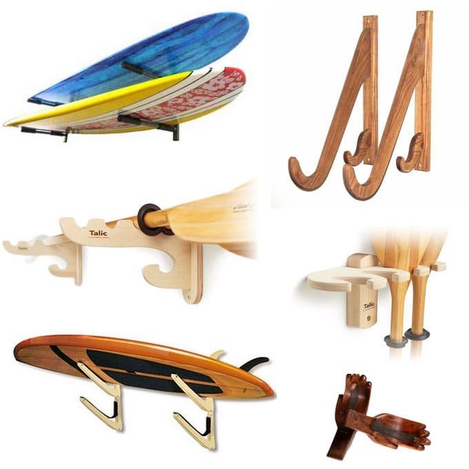 Les racks pour exposer ou ranger vos stand up padle