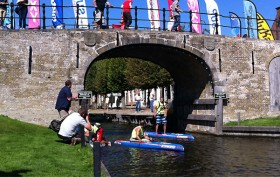 Sup 11 City Tour stand up paddle Ultimate Challenge