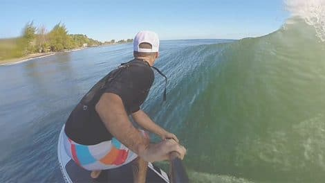 "Vidéo stand up paddle ""Island Sup Life"""