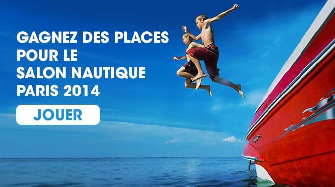 Gagnez des places pour le Salon Nautique Paris 2014