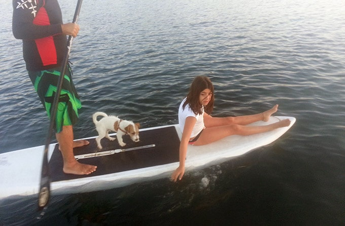 stand up paddle activité famille