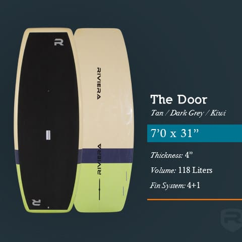 riviera door stand up paddle petit aileron
