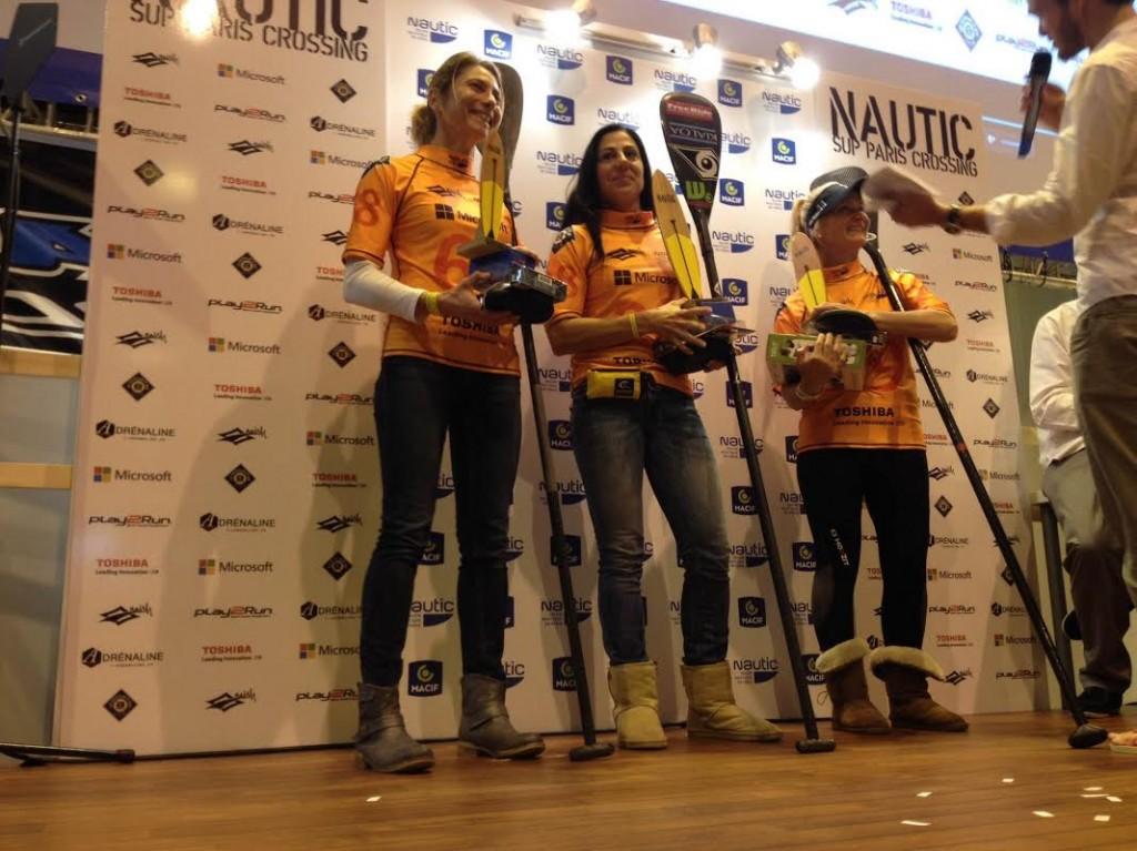 Le classement complet du Nautic Sup Paris Crossing 2014 pro femme