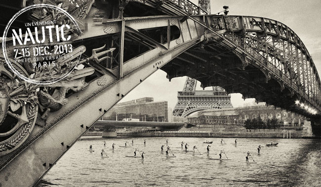 J-6 avant le Nautic Sup Paris Crossing 2014
