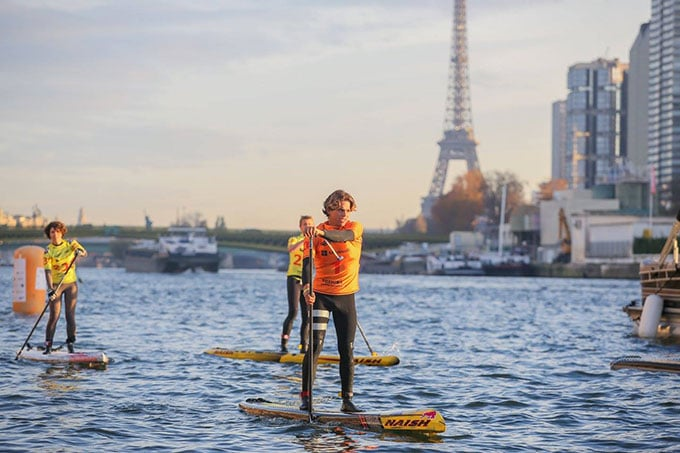 Nautic Sup Paris Crossing 2014 Kai Lenny