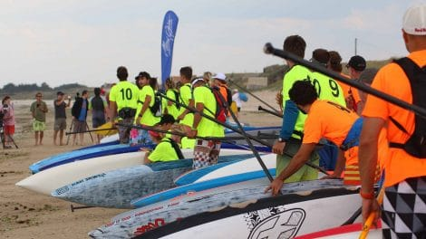 Oléron Island Stand Up Paddle Challenge 2015