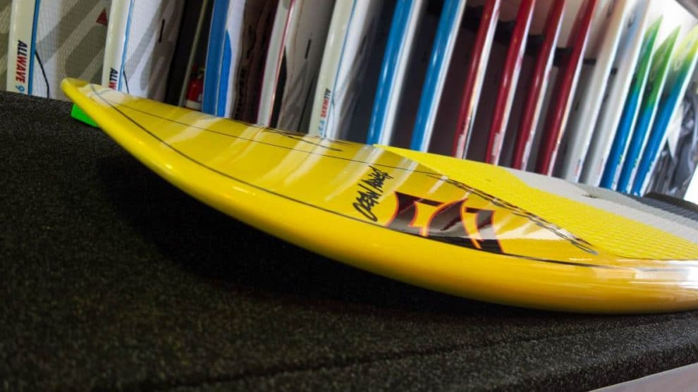 Nouvelle planche de stand up paddle Naish Raptor