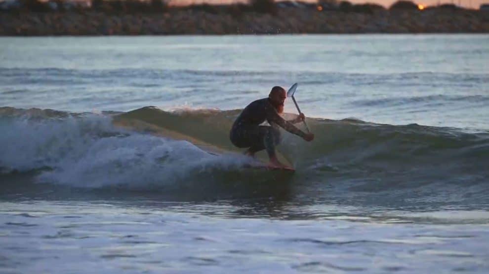 Vidéo stand up paddle After Work avec Patrice Guénolé