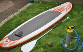 Le stand up paddle gonflable Moana 10'8 Egalis