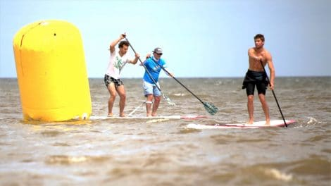 Stand up paddle au North Shore Contest 2015