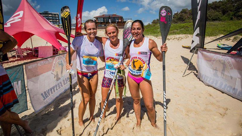 Titouan Puyo et Céline Guesdon au top en Australie en sup