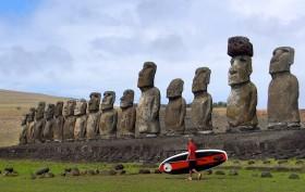 Suping Rapa Nui, stand up paddle à l'île de Pâques