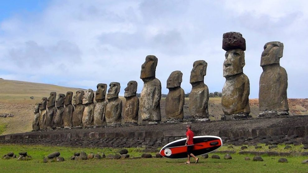Suping Rapa Nui, stand up paddle à l'île de Pâques