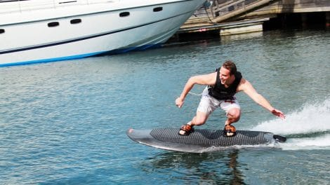 Electric powered wakeboard, une prouesse technologique