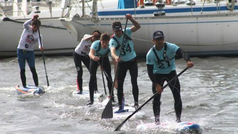 Le Morbihan accueille la Coupe de France de stand up paddle