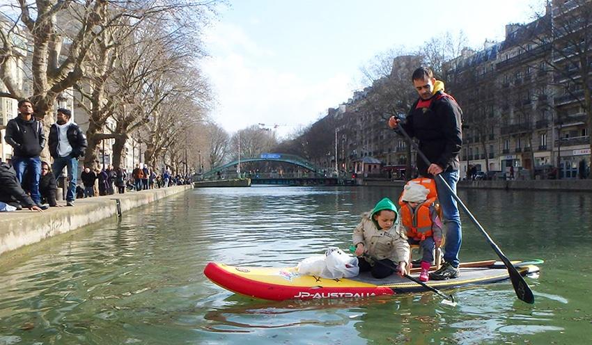 Bilan du nettoyage du canal Saint Martin par Watertrek