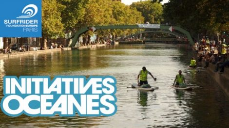 Nettoyer le Canal Saint-Martin à Paris en stand up paddle