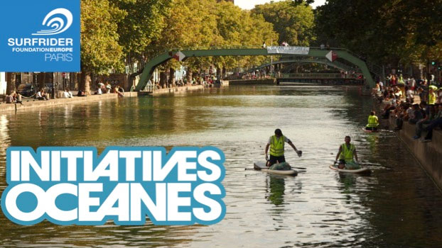 Nettoyer le Canal Saint-Martin à Paris en stand up paddle