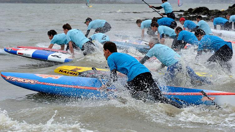 Première étape de la Coupe de France de Sup race