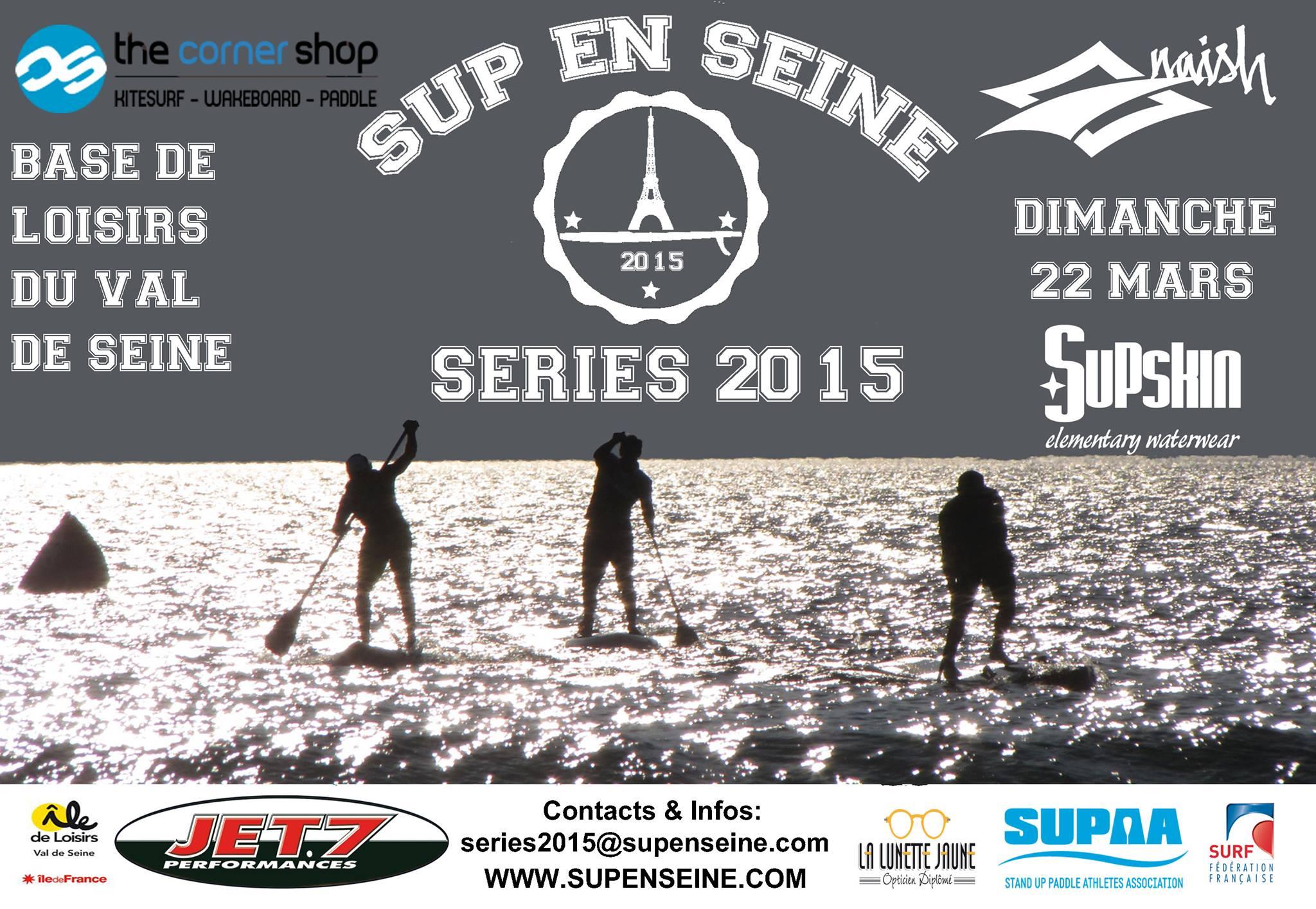 Première étape du Paris Sup Tour par Sup en Seine