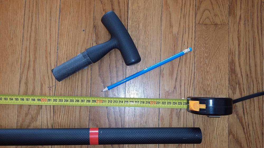 Comment couper et coller sa pagaie de stand up paddle