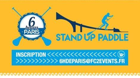 Les 6 heures de Paris en stand up paddle