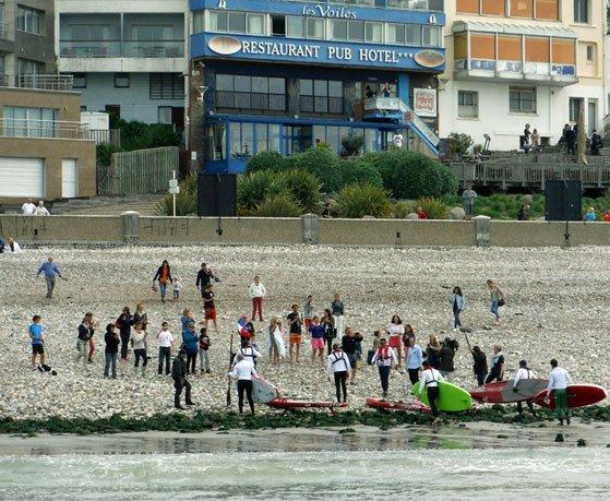 Traversée de la manche Brighton Le Havre en stand up paddle